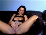 Hot German Pussy Touches Herself and Masturbates on webcam