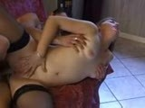 Amateur woman fucked hard in ass
