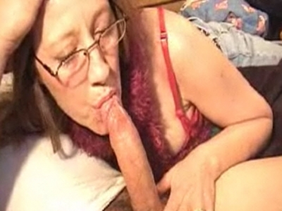 Mom Sucking Cock While Guests Sleeping