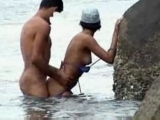 Public Beach Couple Fucking