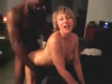 White Woman and Black Man in Hot Doggystyle Sex Video