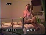Wife in Bed Making Sex with Black Man