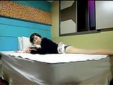 Corea del video Coppia Sesso amatoriale scopa sul letto