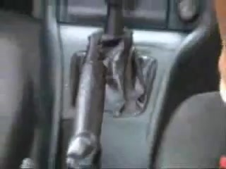 Masturbate gear shift german car